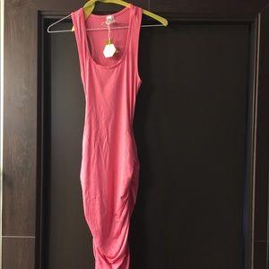 New pinkblush maternity tank dress size small